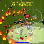 crazy pixel streaker soccer field battle