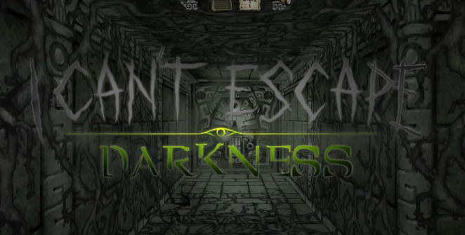 i cant escape darkness title screen
