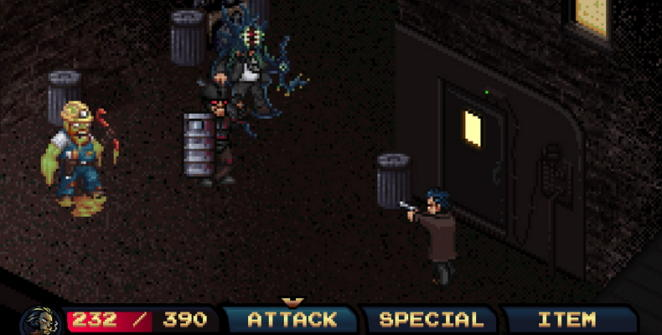 pixel noir alley boss fight