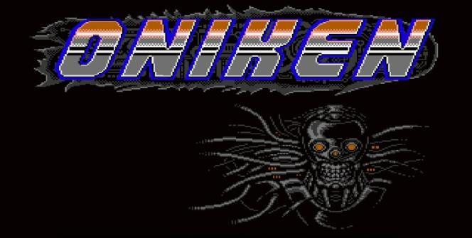 oniken title screen steam