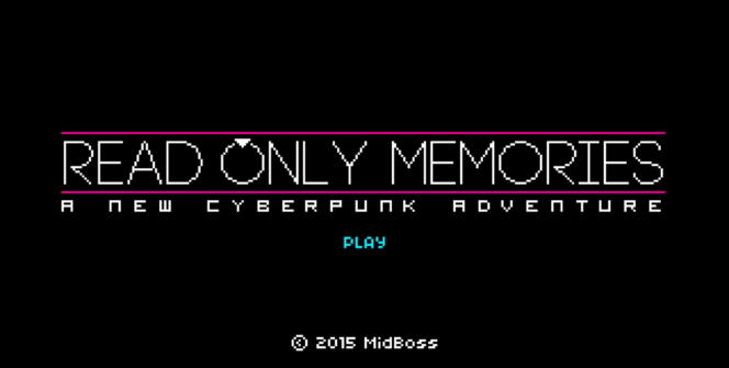 read only memories game trailer