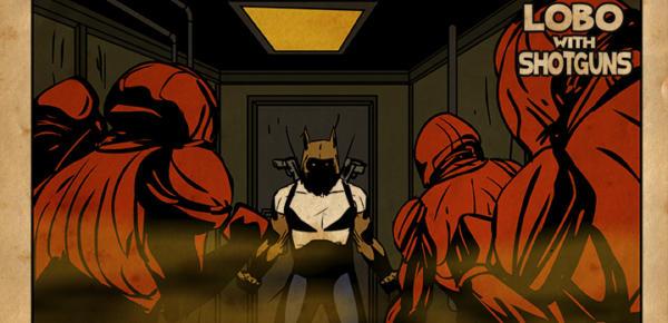lobo with shotguns game trailer