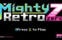 mighty retro zero title screen