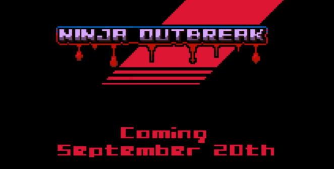 ninja outbreak title screen