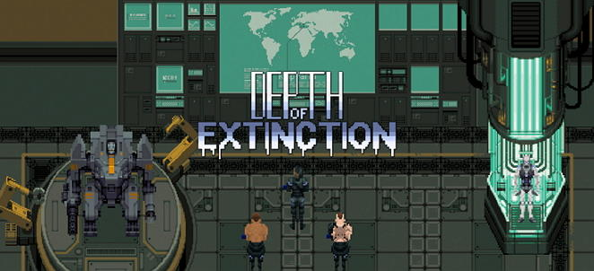 depth of extinction main title screen