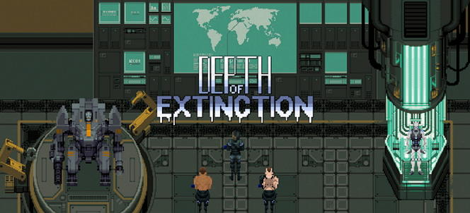 depth of extinction main title screen