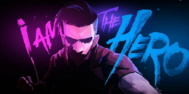 i am the hero indie game title screen