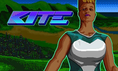 kite indie game title screen