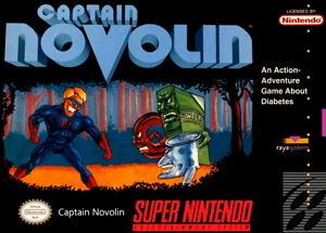 captain novolin diabetes game