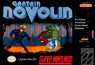captain novolin diabetes game
