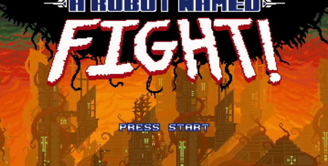 a robot named fight indie game review