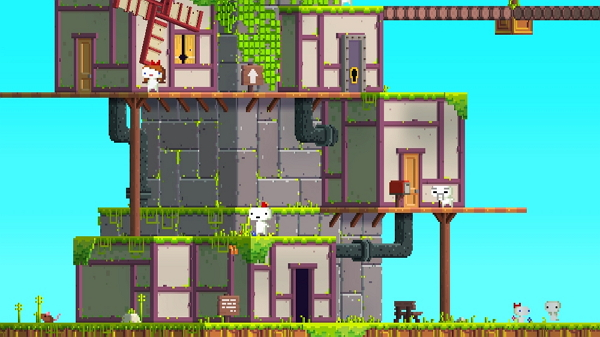fez indie game